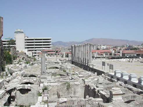 AGORA RUINEN in IZMIR / TURKEI