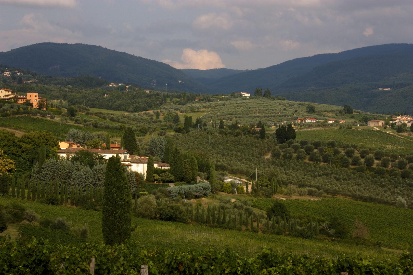 Agriturismo en Italia.