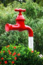 ...agua corriente...