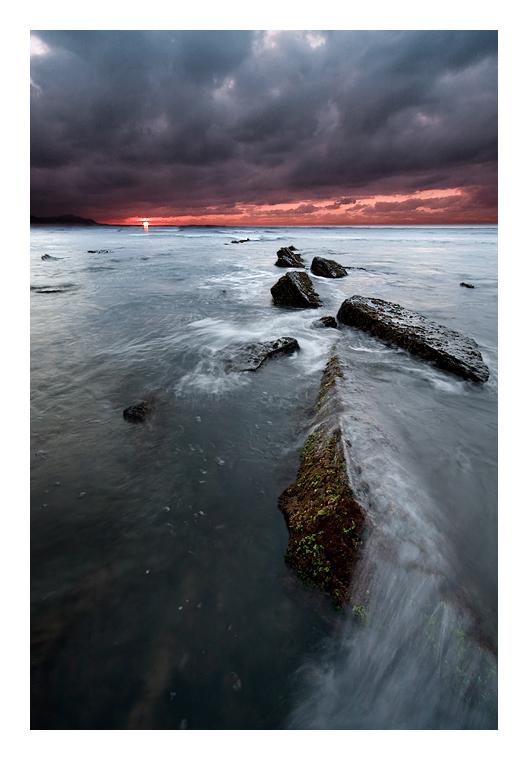 Agua, roca y fuego