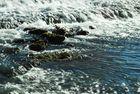 agua turbulenta