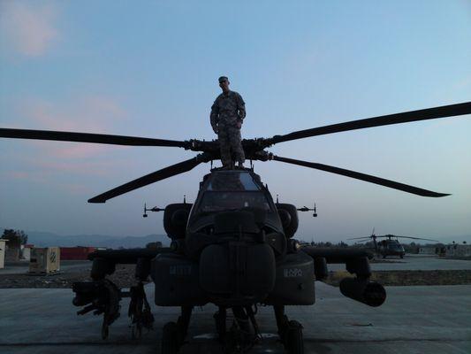 AH-64D in Afghanistan