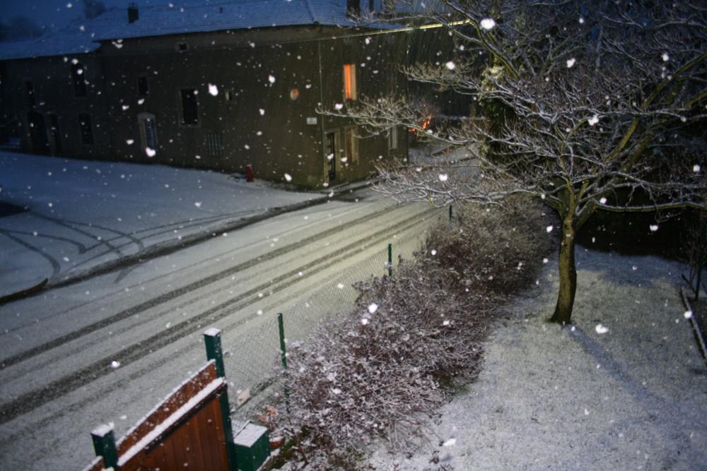 ah la neige, la magie de l'enfance qui revient