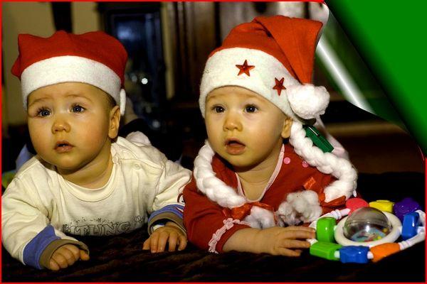 ...aha, Weihnachten, klasse Party!