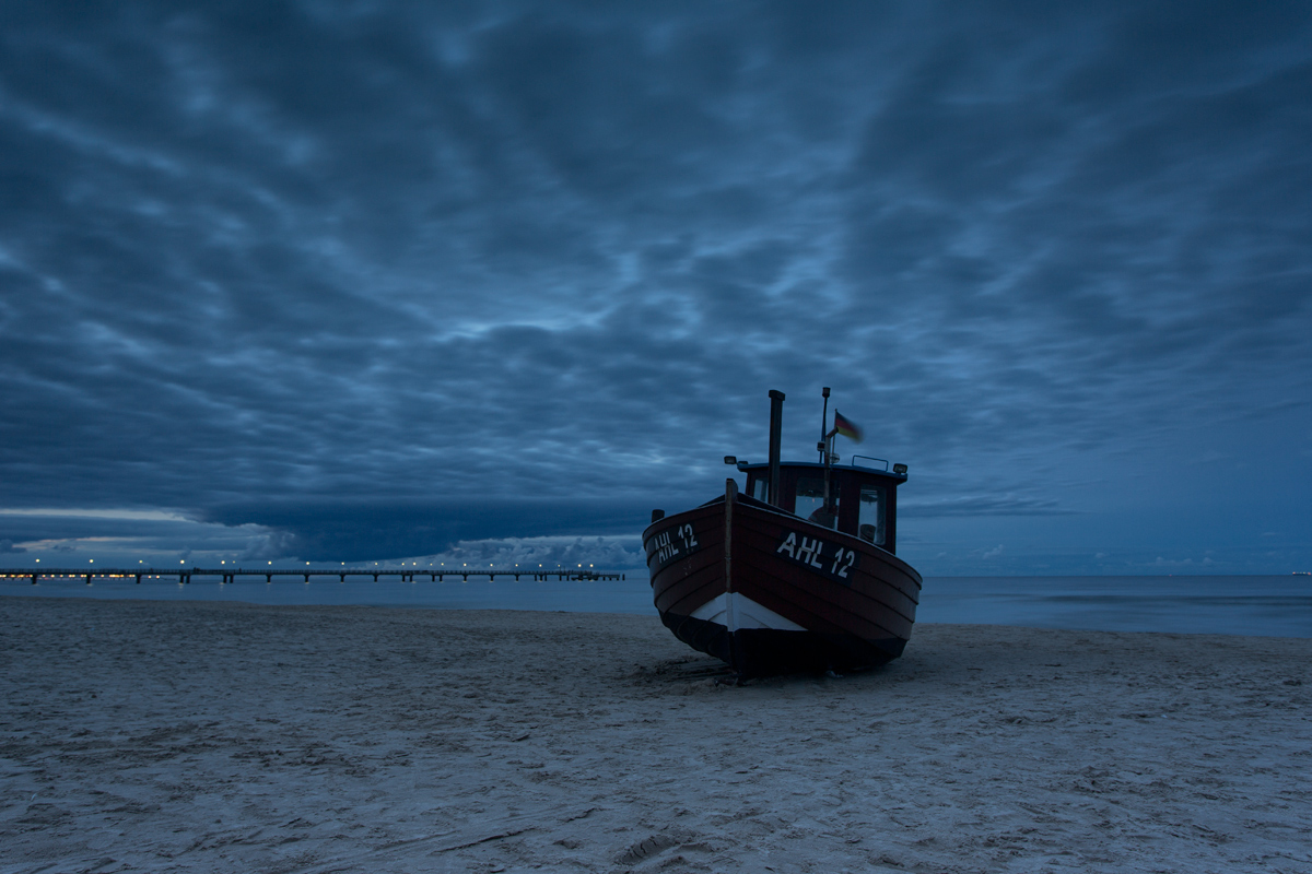 Ahlbeck - am Strand