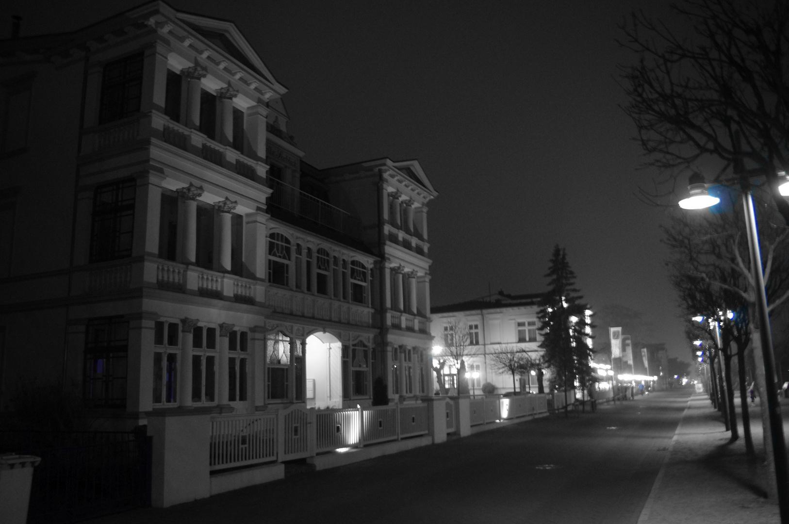 Ahlbeck bei Nacht