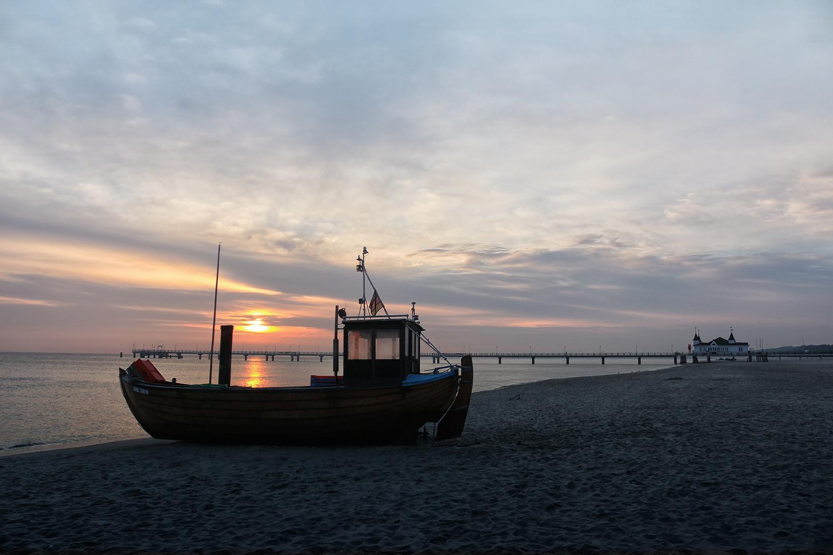 Ahlbeck Sonnenaufgang