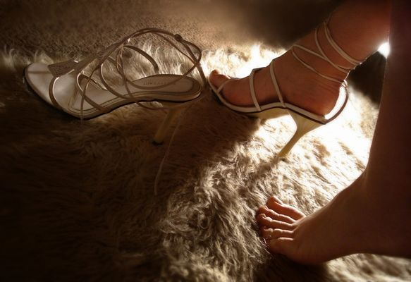 Ai miei piedi...
