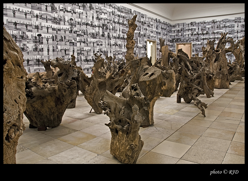 Ai WeiWei Ausstellung III Haus der Kunst München Foto