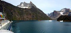 Aida Bella in Grönland Prinz Christian Sund Passage