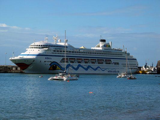 Aida Blu 30.10.2005 auf Maderia