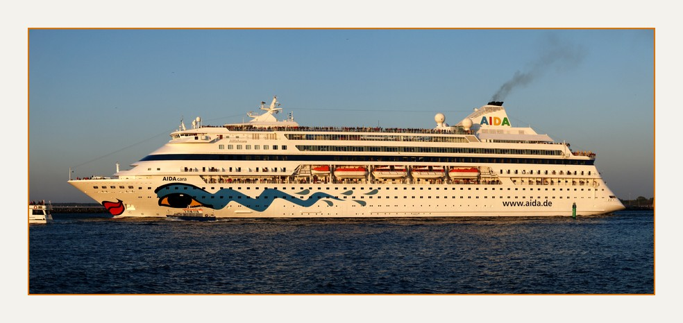 Aida Cara in der Ostsee