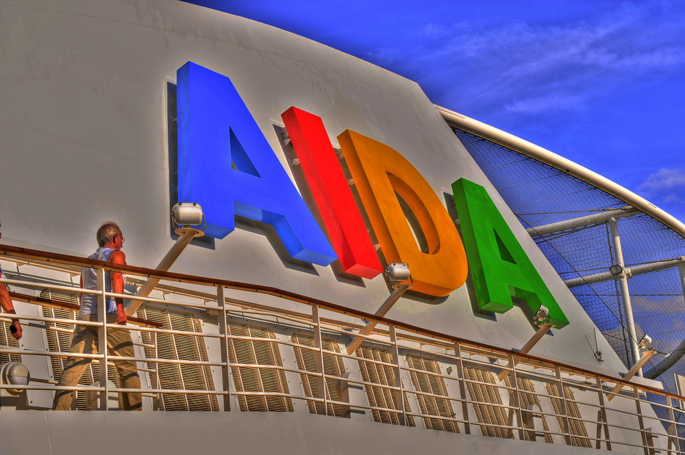 AIDA HDR bearbeitet