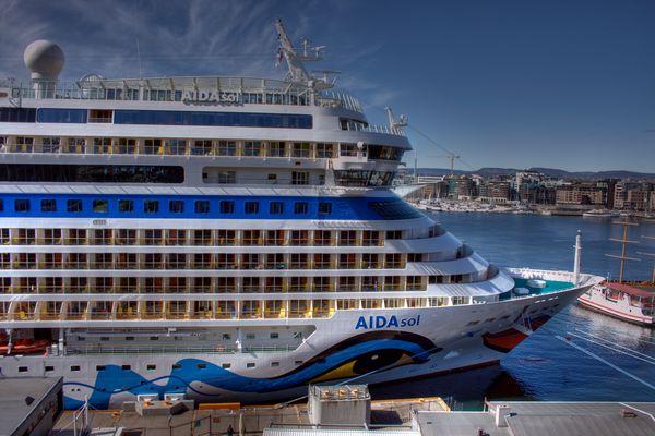 AIDA Sol in Oslo (HDR)