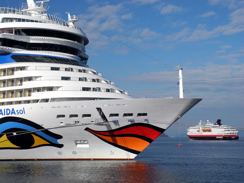 Aida trifft Hurtigruten