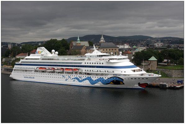 AIDAcara vor Oslo