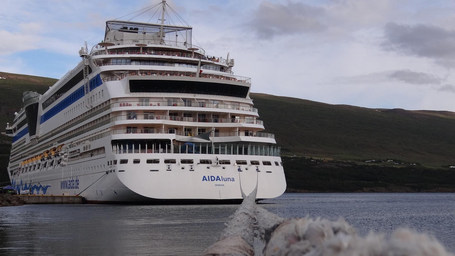 AIDAluna in Akureyri 2