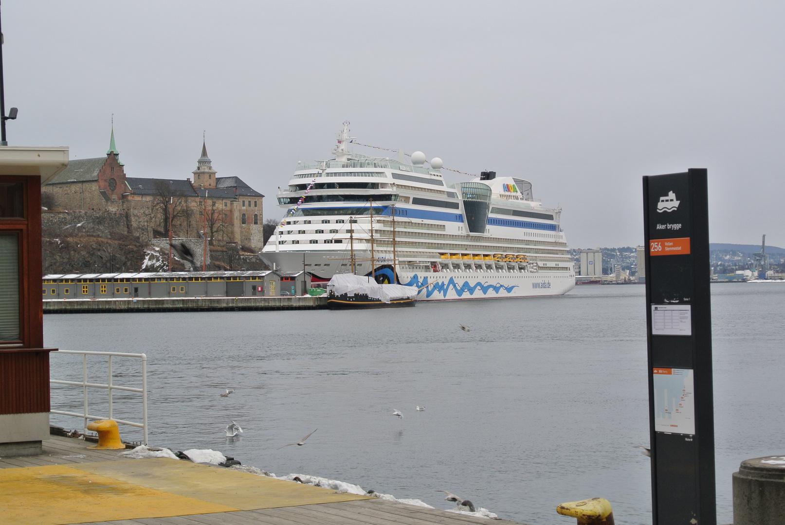 AIDAStella in Oslo