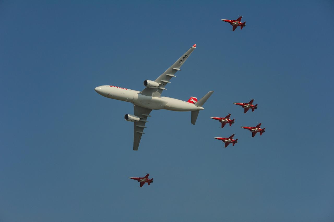 Air 14 Swiss mit PS