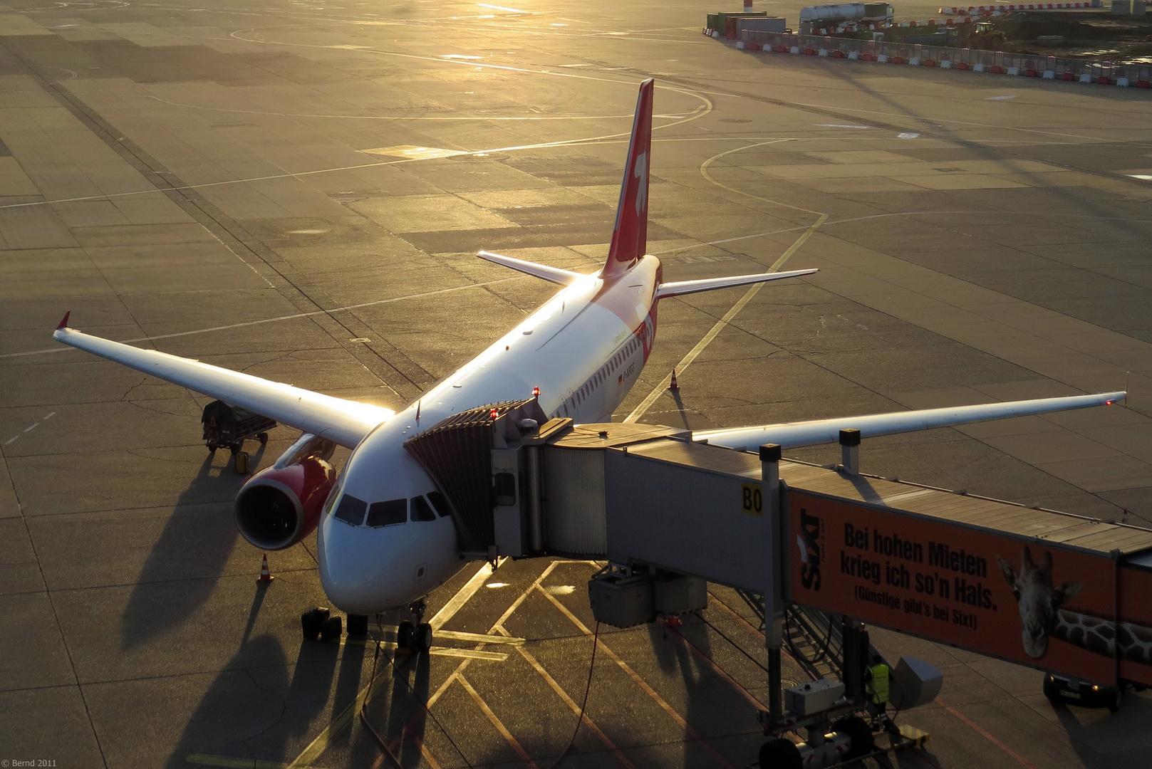 Air Berlin - A319-112, D-ABGS DUS