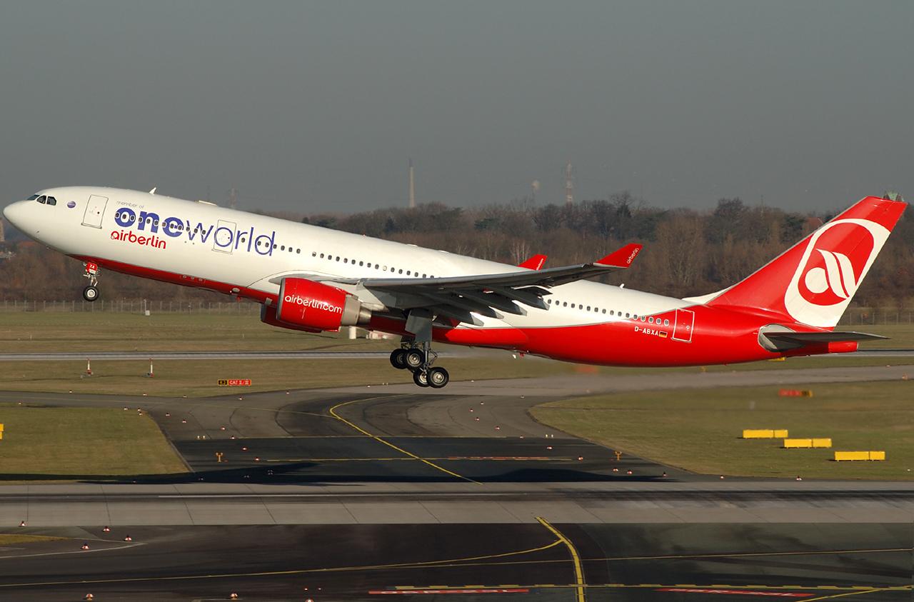 """Air Berlin A330 """"oneworld"""""""
