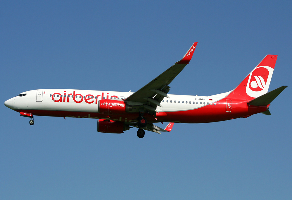 Air Berlin Boeing 737-86J