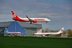 Air Berlin DRS arrival