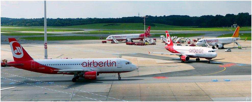 Air Berlin   - Hamburg Airport