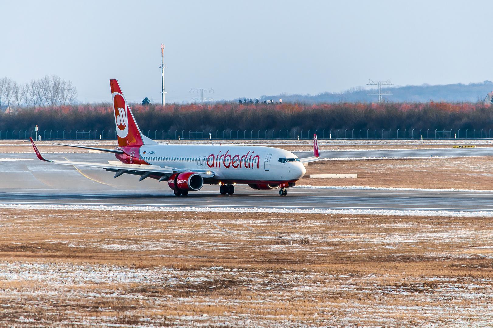 Air Berlin @ LEJ