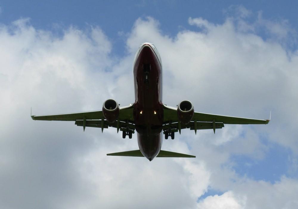 Air Berlin von unten