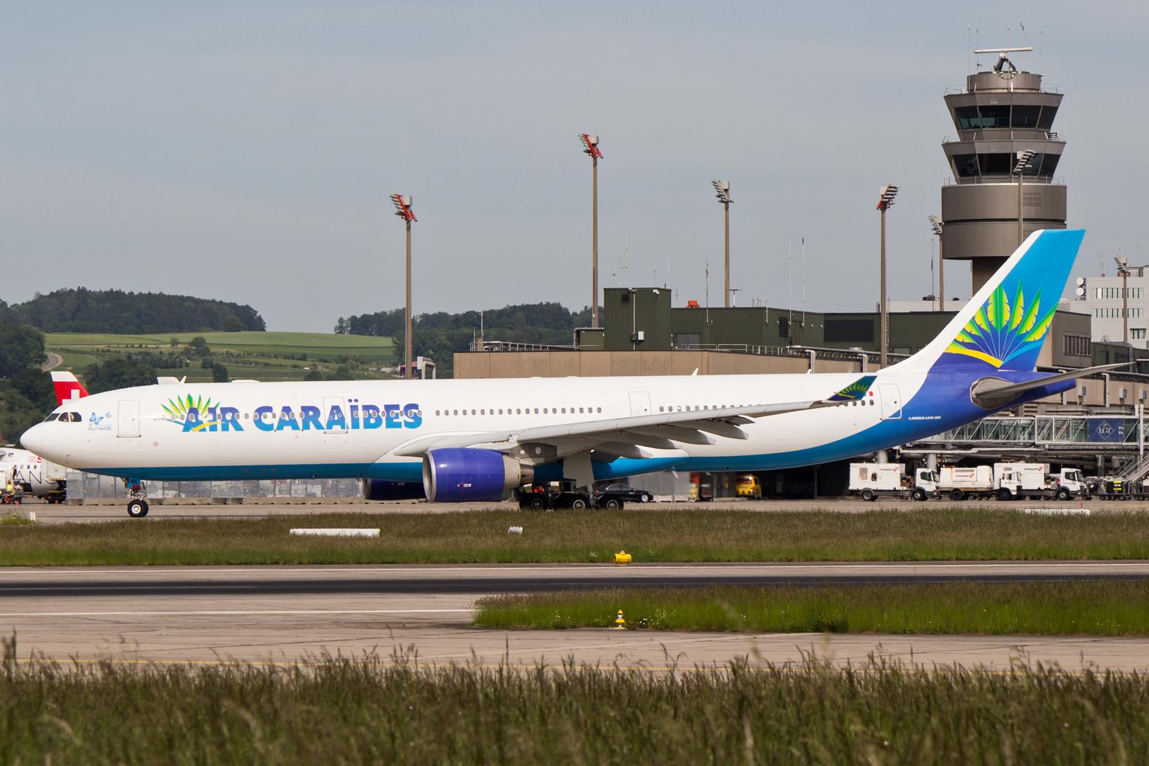 Air Caraïbes, A330-323, F-OONE, in ZRH