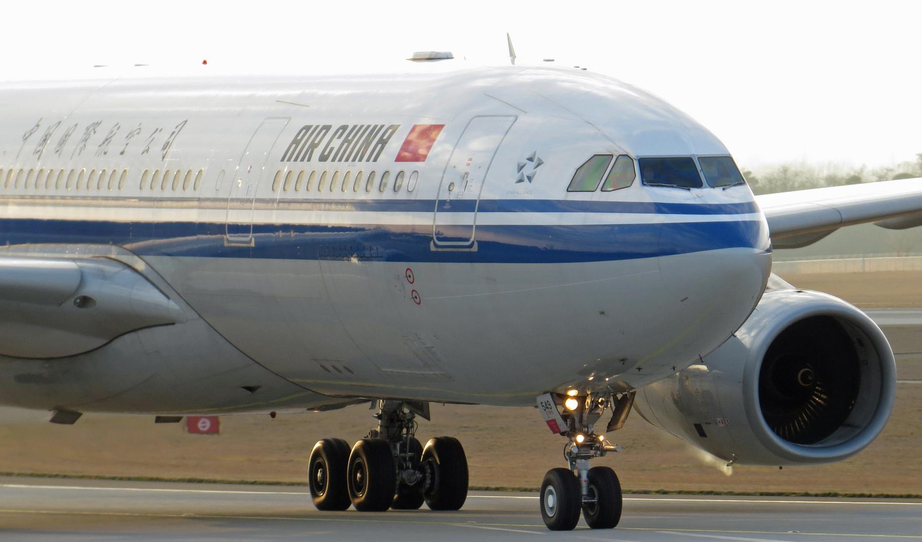 Air China A330 Close-UP