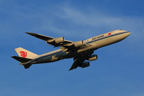 Air China Boeing 747-8I