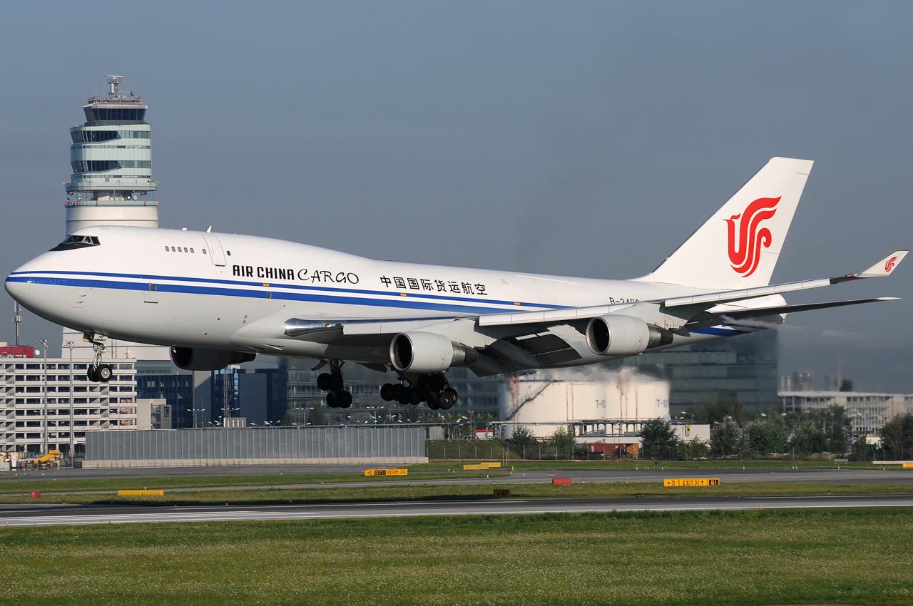 Air China Cargo 747-400F ...