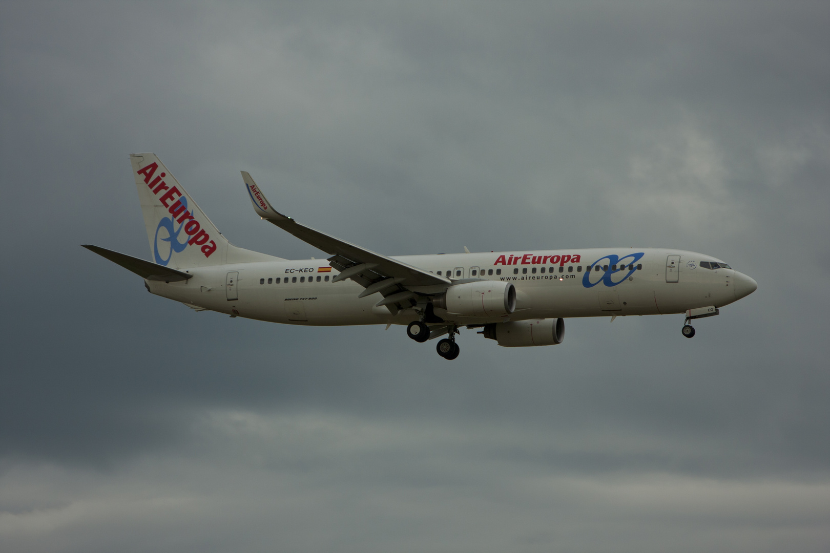 Air Europa Lineas Aereas S.A. Boeing 737-800 Winglet