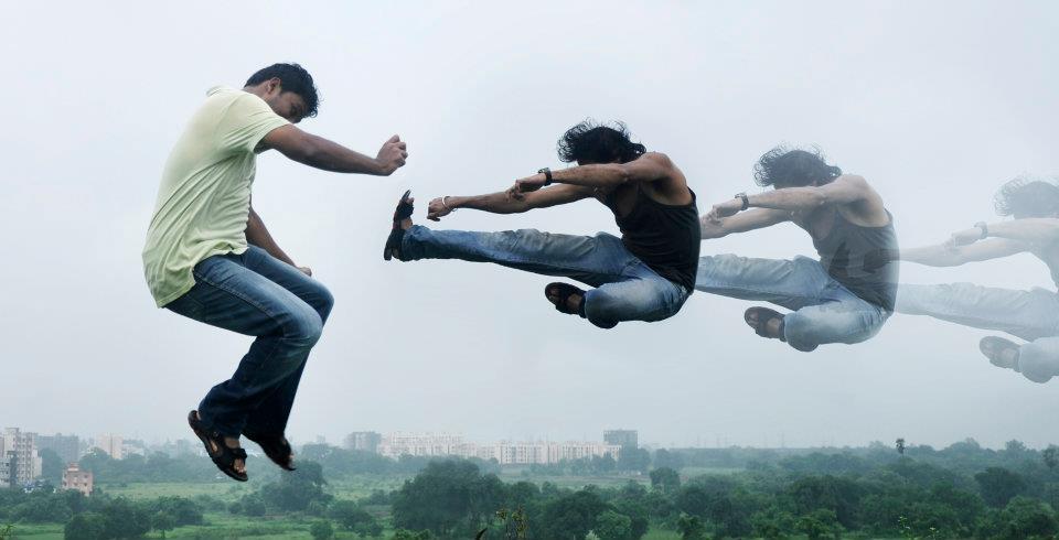 Air fight in India