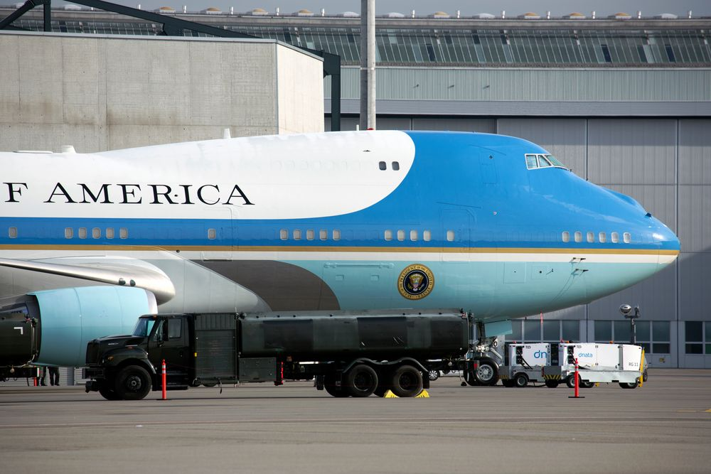 Air Force One 26.01.18