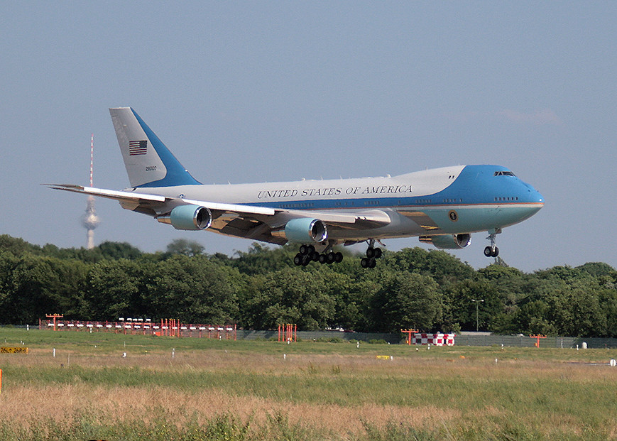 Air Force One in Tegel