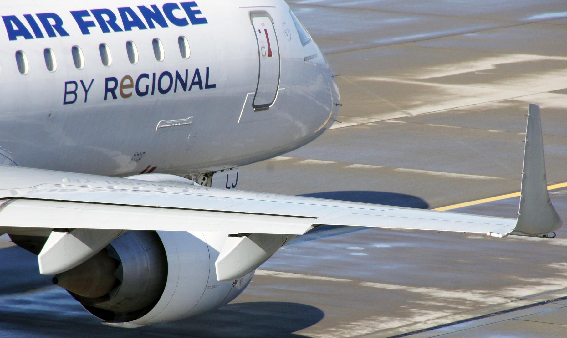 Air France in ZRH