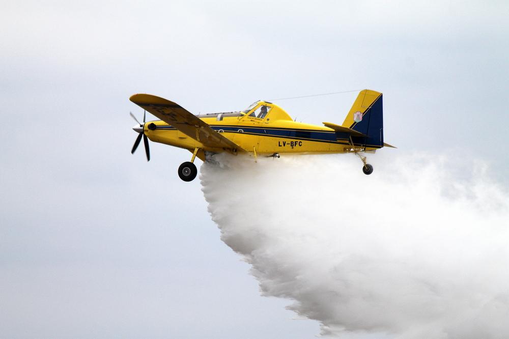 Air Tractor, en combate de fuego