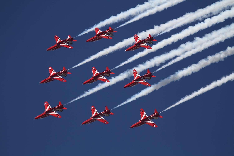 "AIR14 #43 ""Red Arrows"""