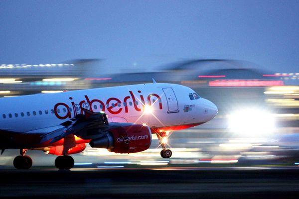 Airberlin @ night