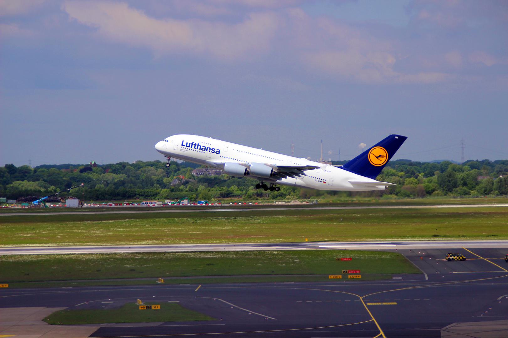 "Airbus 380 ""Düsseldorf"""
