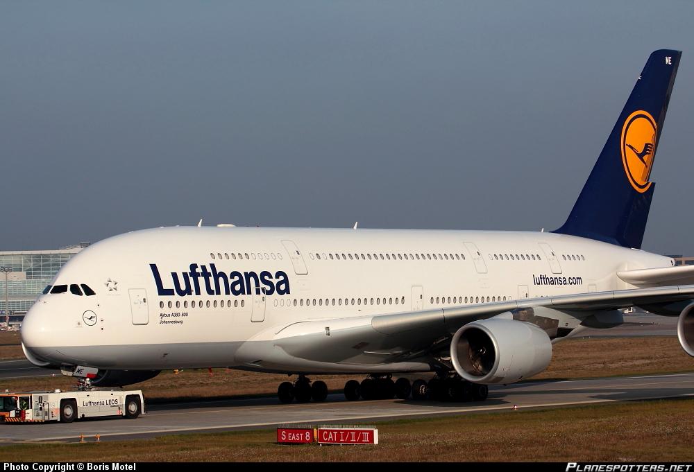 """Airbus A-380-841 """"Johannesburg"""""""