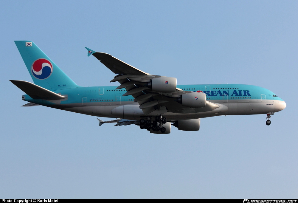 Airbus A-380-861 Korean Airlines