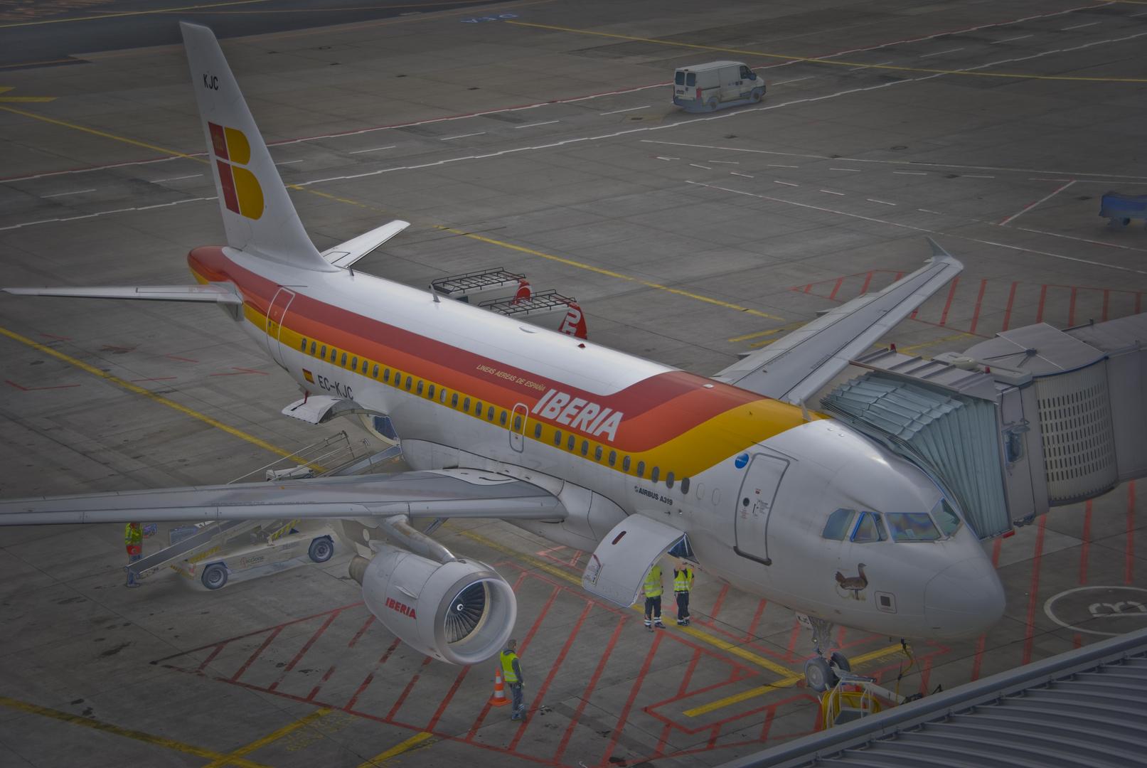 Airbus A319 der Iberia