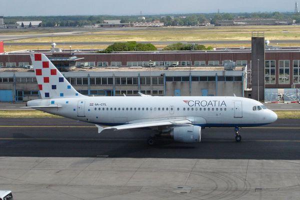 Airbus A319 von der Croatia Airlines