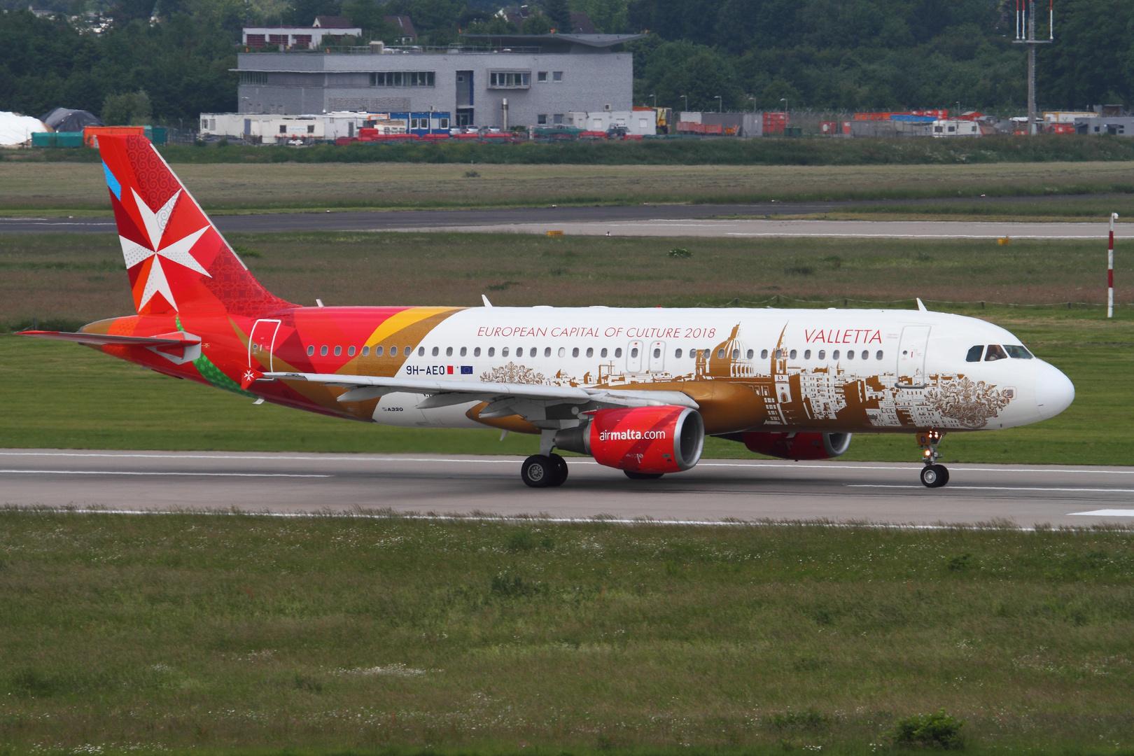 Airbus A320 Air Malta #01