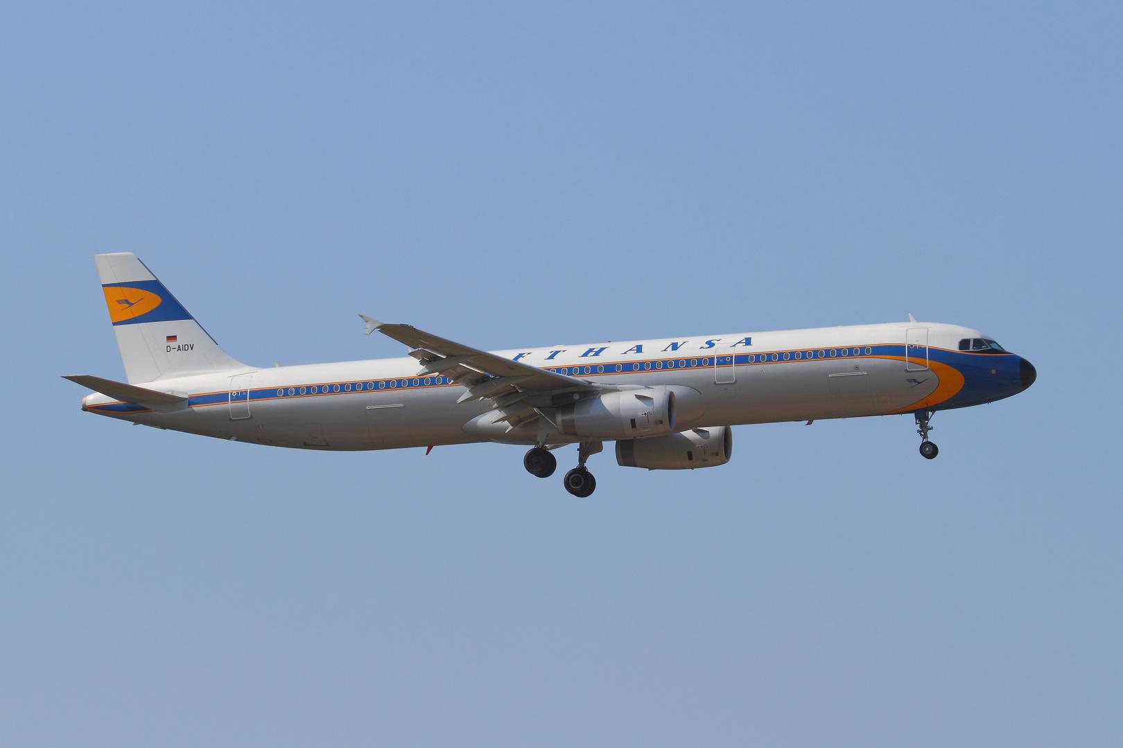 Airbus A321-231 Lufthansa