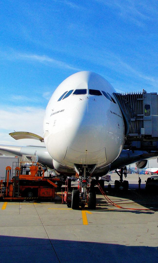 Airbus A380 München